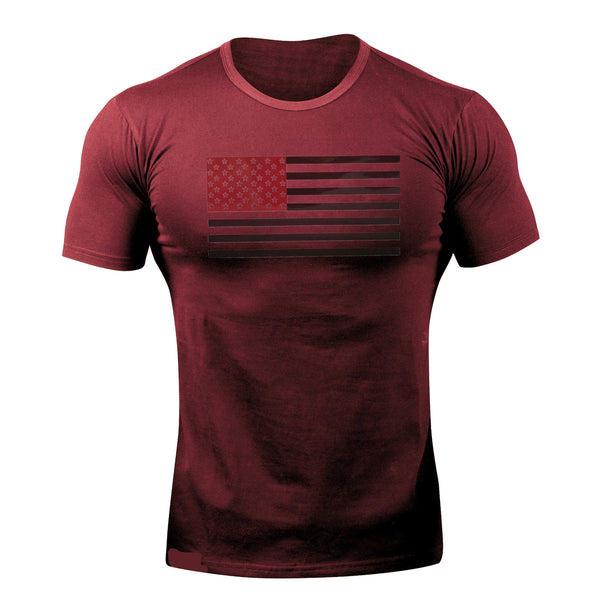 Men's Camouflage Slim Fit Breathable Round neck Cotton Short Sleeve for Running