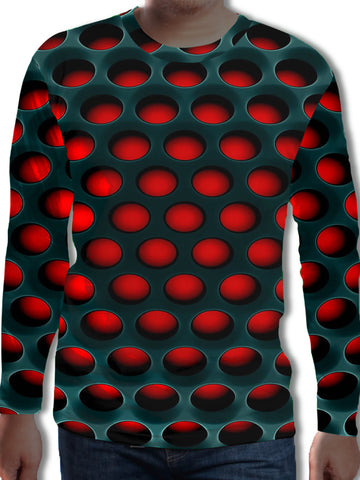 Men's 3D Print Long Sleeve T-Shirt 771/771-3/993