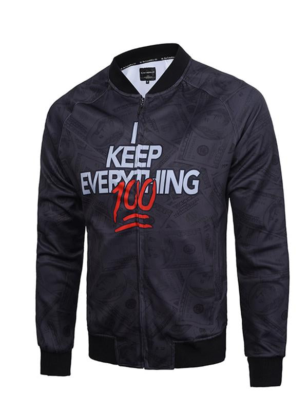 Men's Outerwear 3D Printed Jackets J007# - kiyomall
