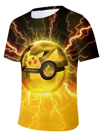 3D T-shirt For Men T-shirts Casual Tees Anime - Chiclulu