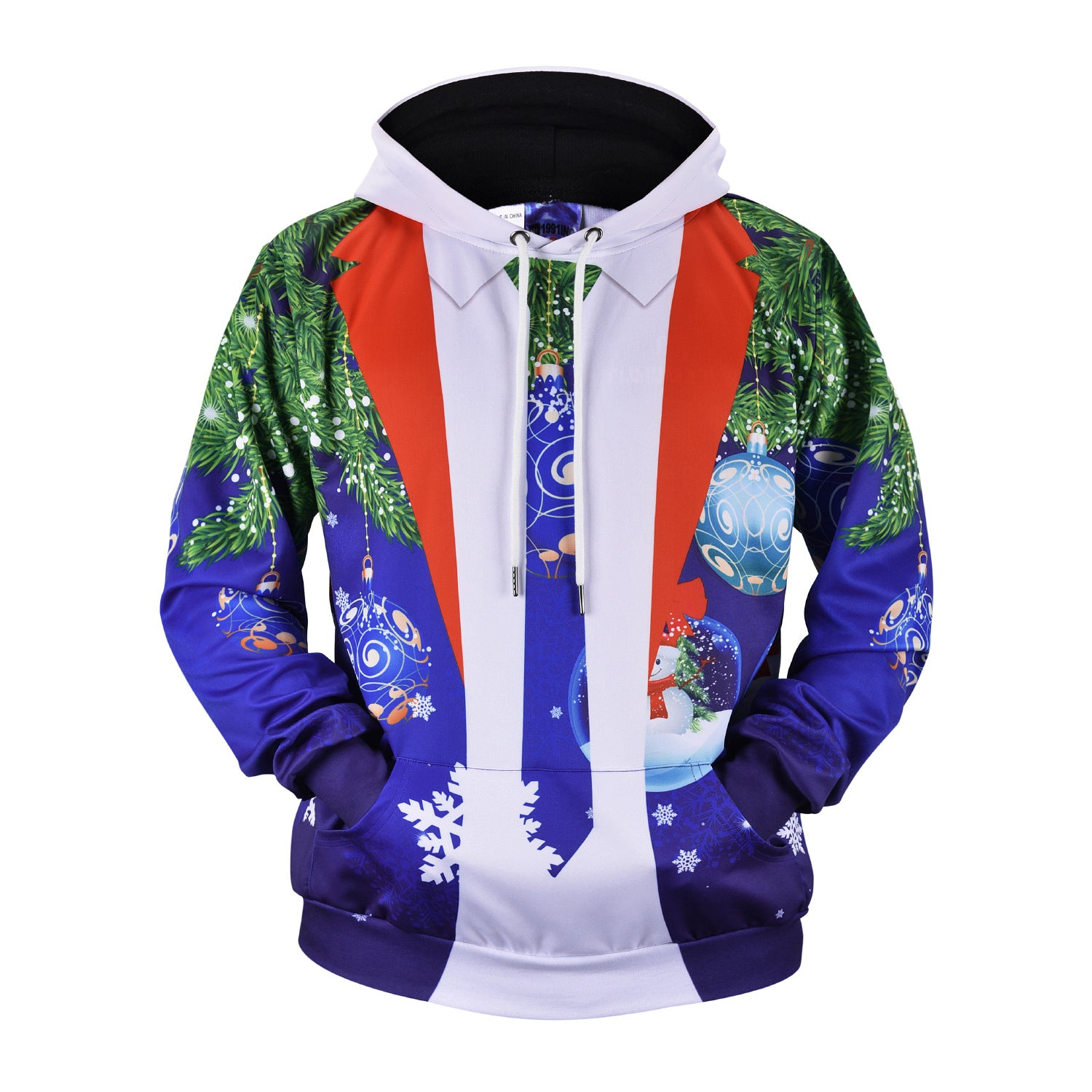 Men's 3D Printed Polyester Hoodies 3D L61016#