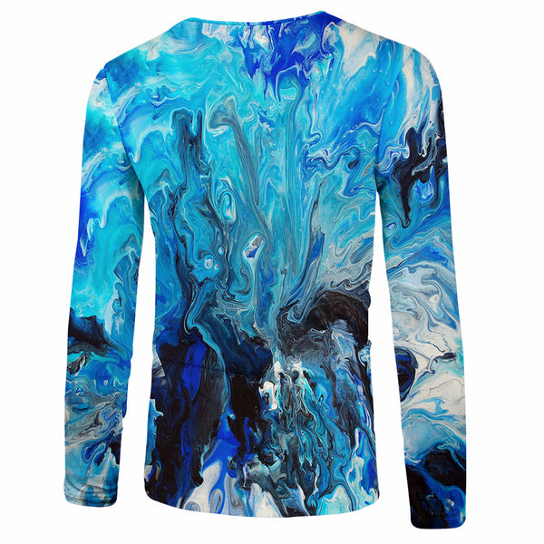 Men's Polyester 3D Print Long Sleeve T-Shirt FCCX006