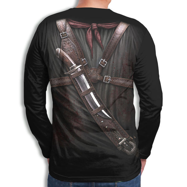 Men's 3D Print Long Sleeve T-Shirt ZD001