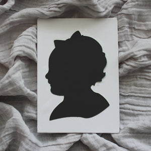 Black and White Silhouettes by Anna Ferguson
