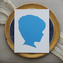 Load image into Gallery viewer, Blue and White Silhouettes by Anna Ferguson