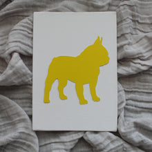 Load image into Gallery viewer, Yellow and White Silhouettes by Anna Ferguson