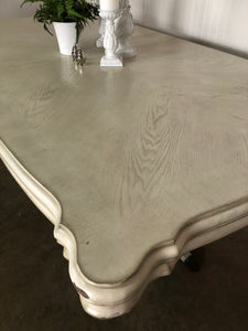 Antique White XL Coaster Table