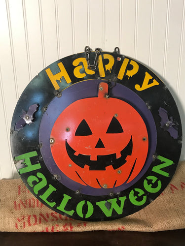 "24"" Iron Hanging Halloween Decor"