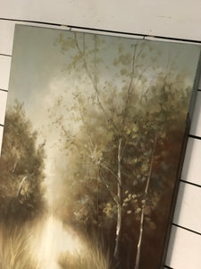 Misty Morn Hand Painted Canvas Art