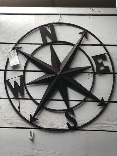 Iron Wall Hanging Compass