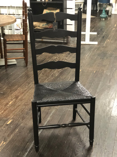 Black Ladder-back Chair