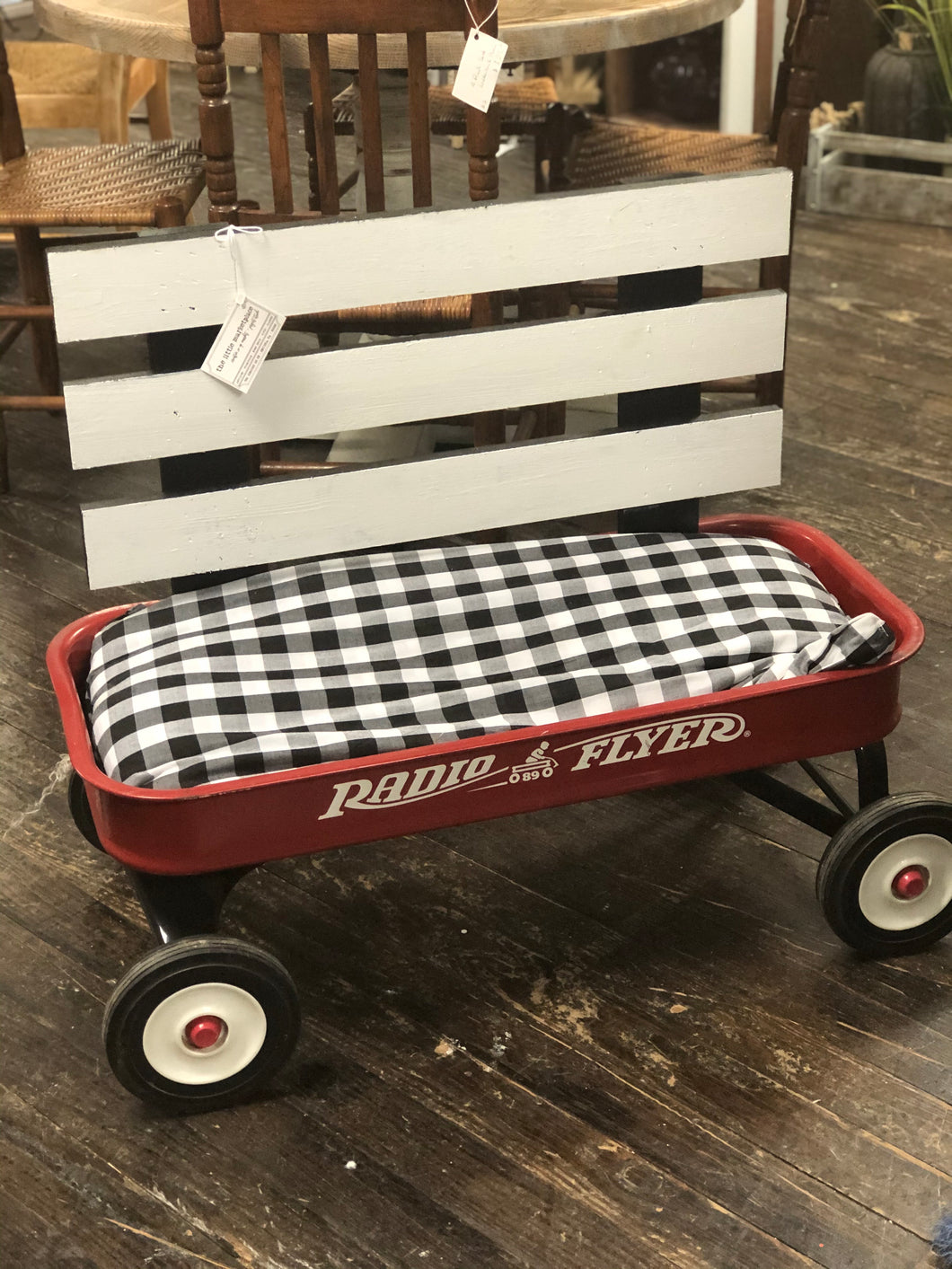 Radio Flyer Wagon Bench