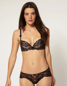 MYLA Nicole Brief - Black/Nude