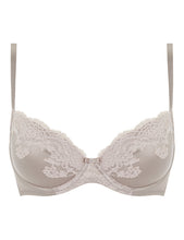 Load image into Gallery viewer, MYLA Heritage Silk Padded Plunge Bra - Marble/Granite Pink - 32A - 32B - 32C - 32D - 32DD - 34A - 34B - 34C - 34D - 34DD - 36A - 36B - 36C - 36D - 36DD