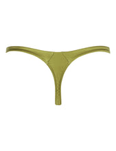 Load image into Gallery viewer, MYLA Heritage Silk Thong - Old Gold/Persian Rose