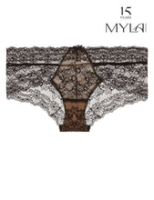 Load image into Gallery viewer, MYLA Nicole Brief - Black/Nude - XS - S - M - L - XL
