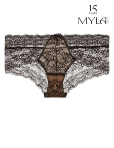 MYLA Nicole Brief - Black/Nude - XS - S - M - L - XL