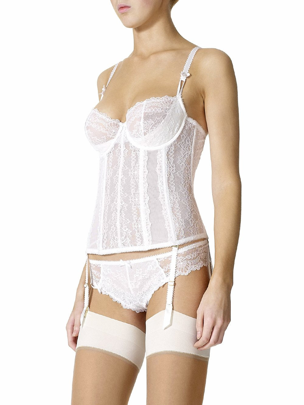 MYLA Nicole - Basque  White - S - M - L - XL