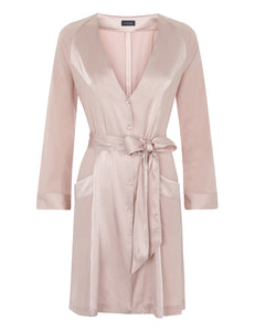 MYLA Patchwork Short Robe - Granite Pink - XS - S - M - L - XL
