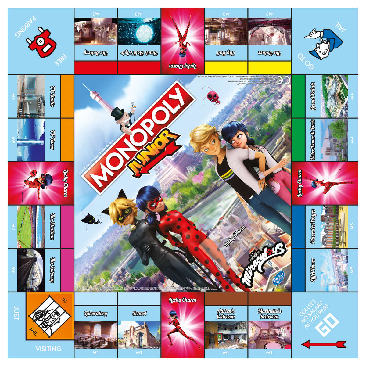 Monopoly Junior Board Game Miraculous Edition Booghe