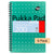 Pukka Pad A5 Jotta Metallic Notebook 200 pages 80gsm Wirebound Ruled Pack of 6