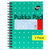 Pukka Pad A6 Jotta Metallic Notebook 200 pages 80gsm Wirebound Ruled Pack of 3