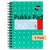 Pukka Pad A6 Jotta Metallic Notebook 200 pages 80gsm Wirebound Ruled Pack of 6