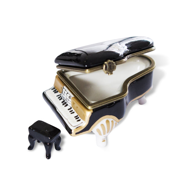 Grand Piano Porcelain Box