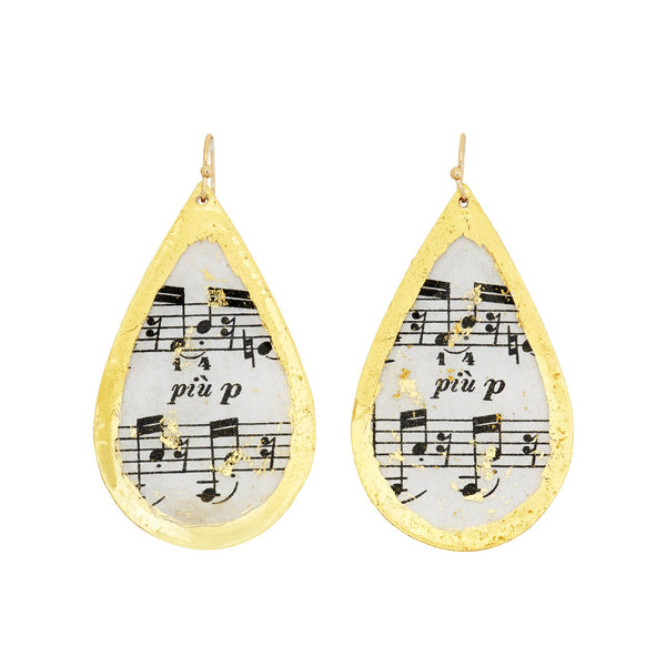 Opus Teardrop Earrings