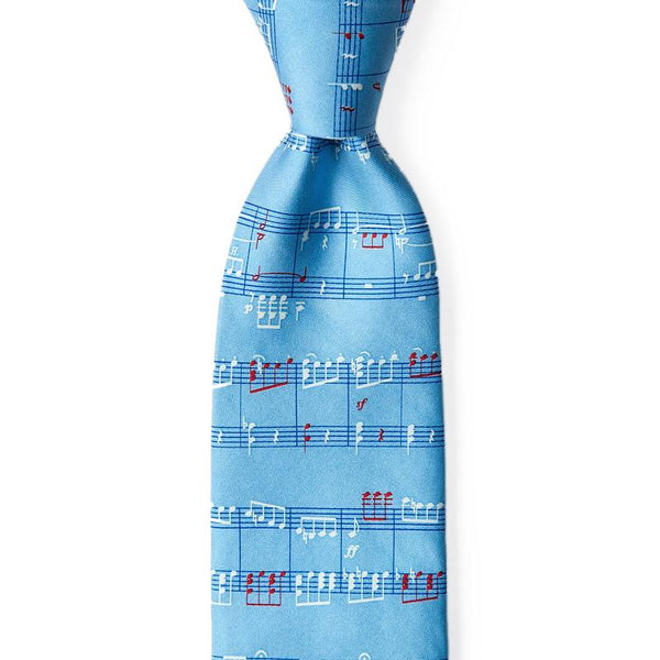 Notable Notes Tie