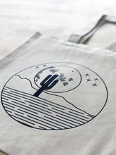 Load image into Gallery viewer, Desert Moon Organic Cotton Shopping Tote