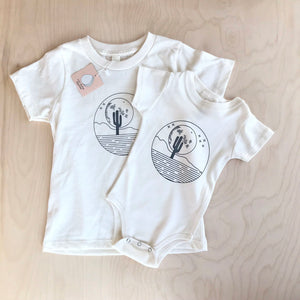Desert Moon Organic Cotton Infant Bodysuit