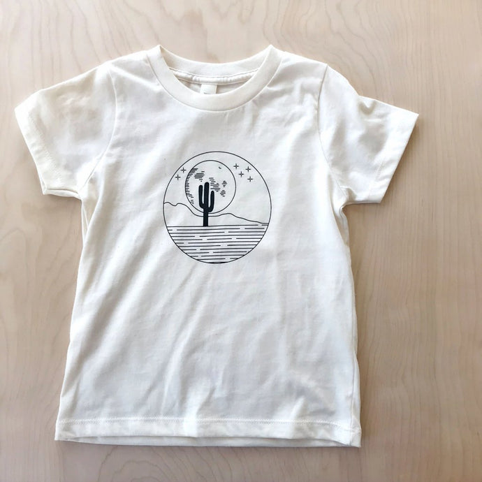 Desert Moon Organic Cotton Toddler T-Shirt