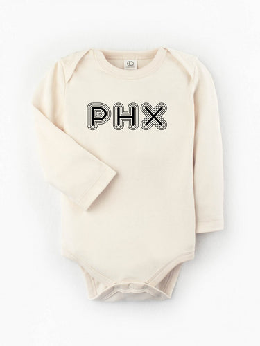 Organic PHX Long Sleeve Bodysuit