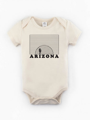 Organic Arizona Sunset Onesie