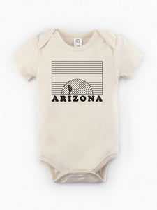 Organic Arizona Sunset Bodysuit