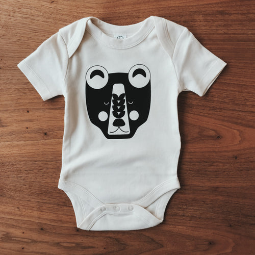Organic Little Bear Onesie