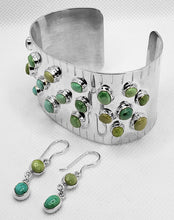 "Load image into Gallery viewer, ""Into the Valley of Turquoise,"" Bracelet & Earring Set"