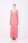 ORGANIC COTTON MAXI DRESS - BLOSSOM - Tluxe
