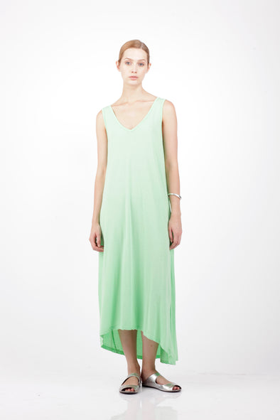 ORGANIC COTTON SUN DRESS- MINT - Tluxe