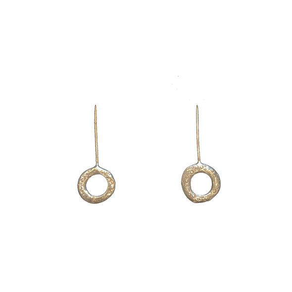 CHLOE McCOLL ROUND DROP EARRINGS - Tluxe
