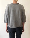 GREY LUXE FLEECE - Tluxe