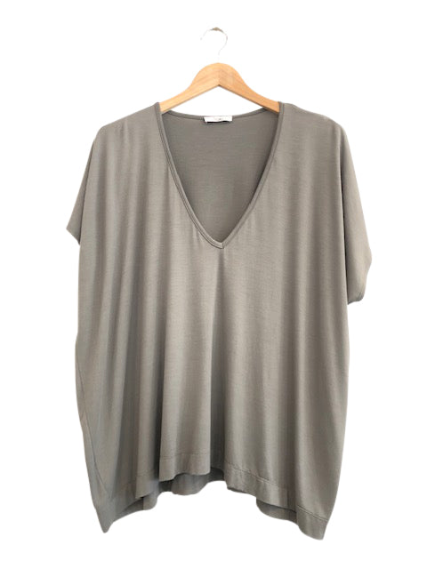BAMBOO PONCHO TOP - FERN - Tluxe