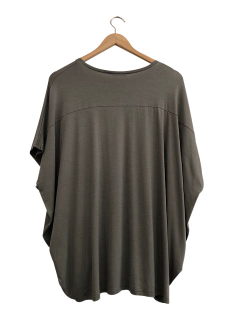 BAMBOO COCOON TOP - FERN - Tluxe
