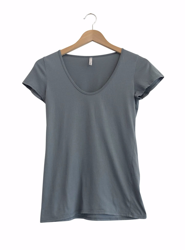 ORGANIC COTTON PERFECT TEE - THYME
