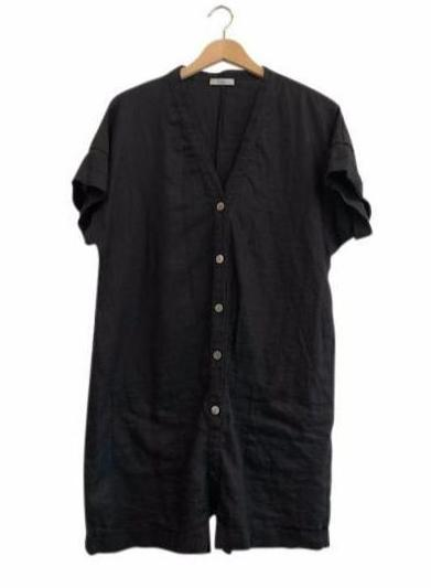 LINEN DUKE SUIT - BLACK
