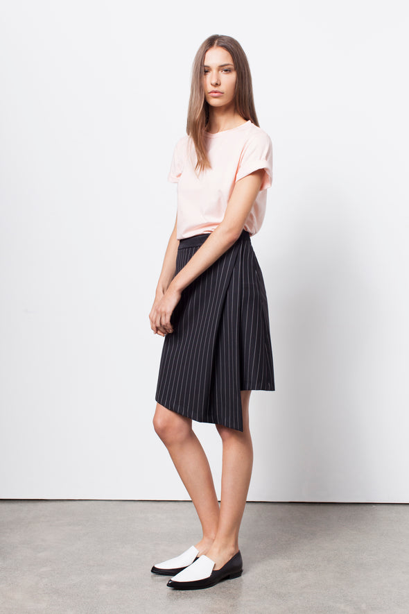 URBAN WRAP SKIRT - Tluxe
