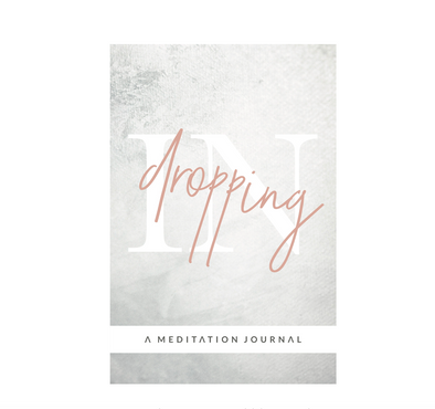 DROPPING IN MEDITATION JOURNAL - Tluxe