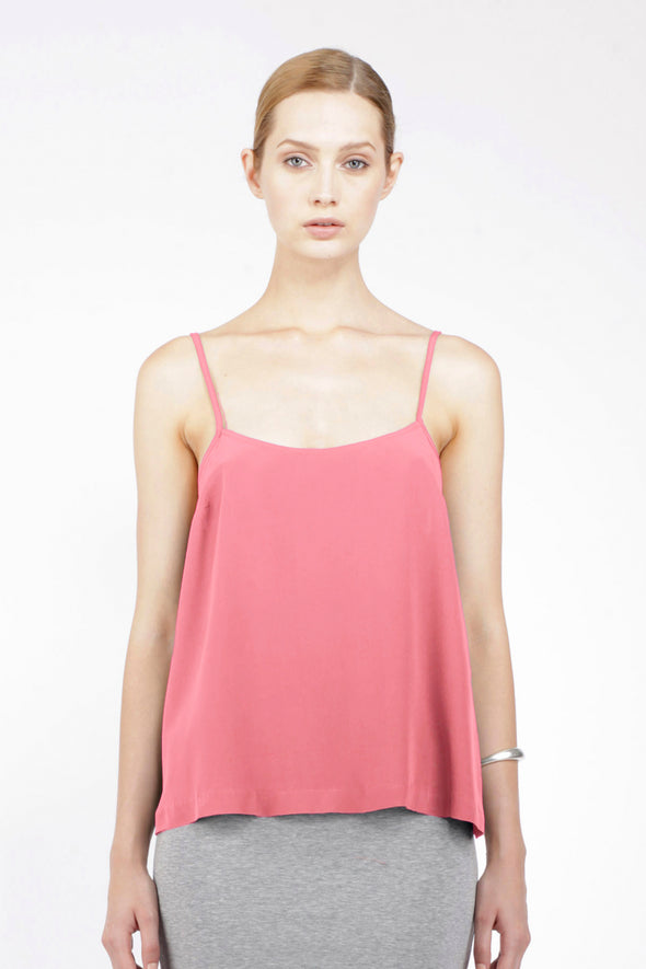 SILK CAMISOLE - BLOSSOM - Tluxe