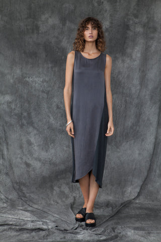 SPLICE DRESS - BLACK